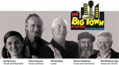 Go to The Big Town Players' Facebook page